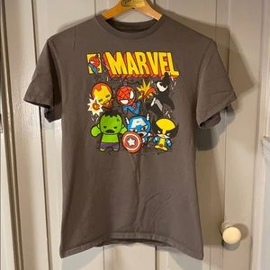 Marvel Baby Avengers Graphic Short Sleeve T-Shirt